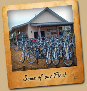 Grand Canyon Bike Fleet